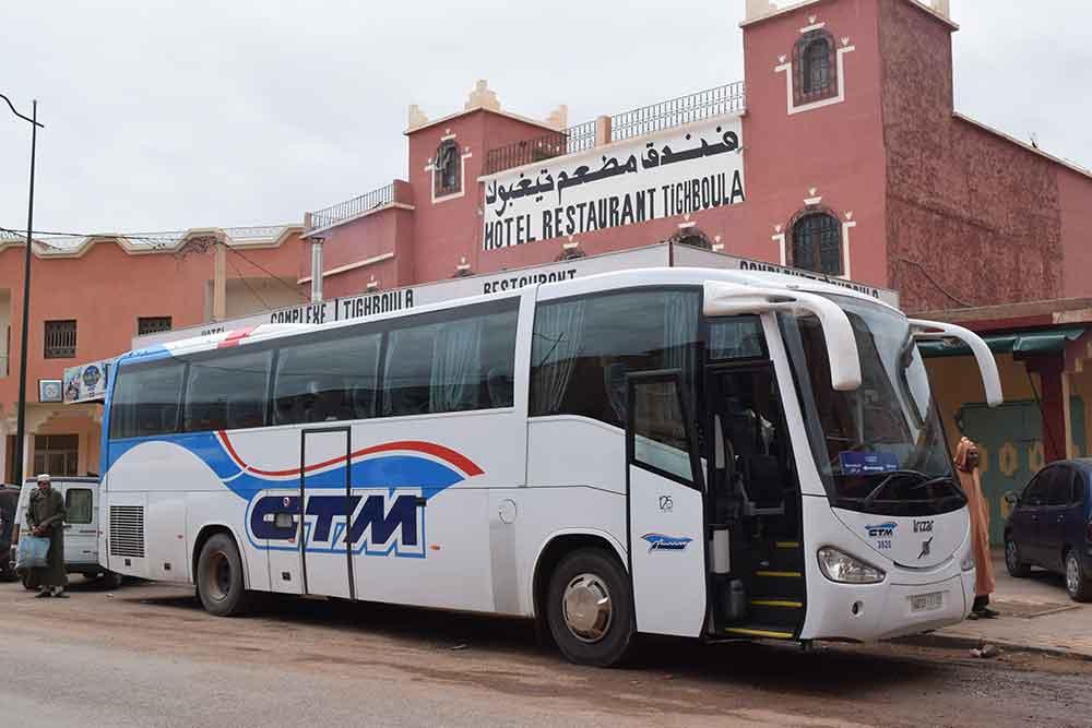Como llegar a Marruecos en autobus
