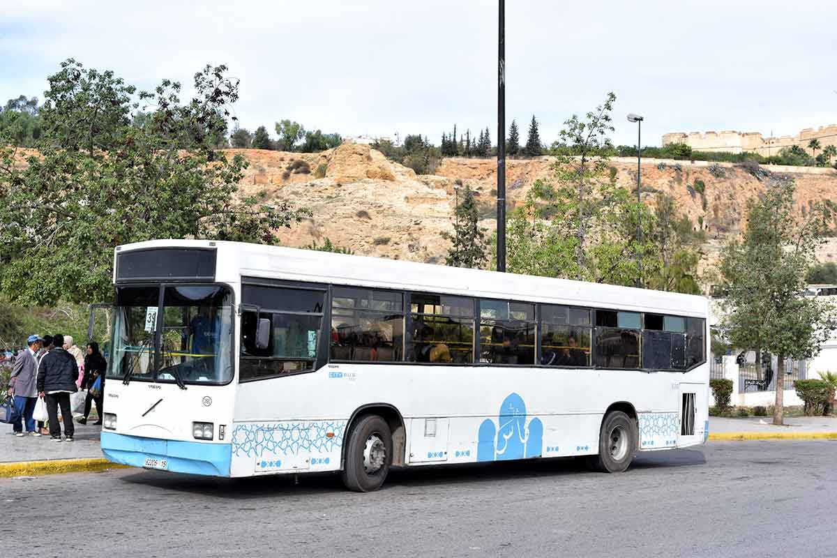 autobuses en Marruecos