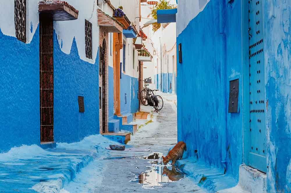 Calle Kasbah de los Oudayas