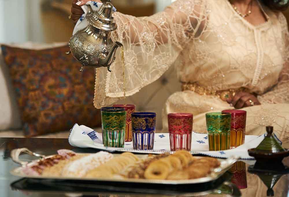 Costumbre te marroquí