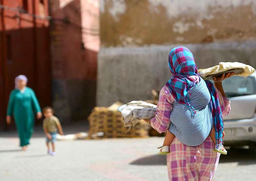 Costumbres Marruecos en la calle