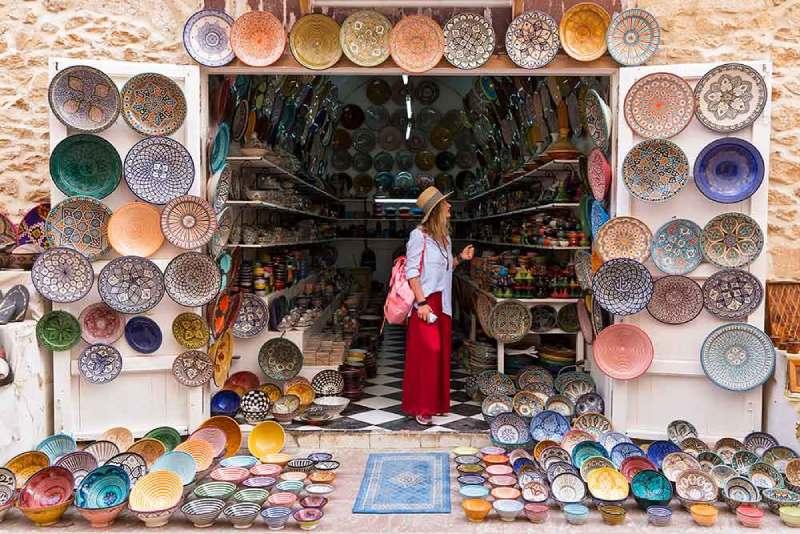 El regateo en Marruecos