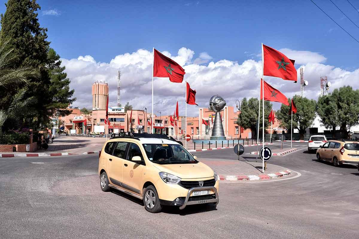 Grand Taxi en Marruecos