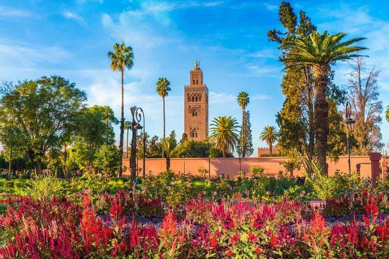 Mezquita de la Koutoubia Marrakech