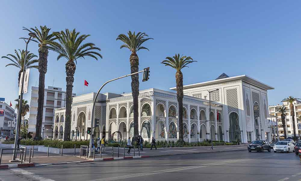 Museo de Arte contemporaneo Rabat