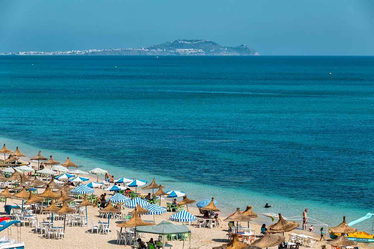 Playa de Restinga en Marruecos