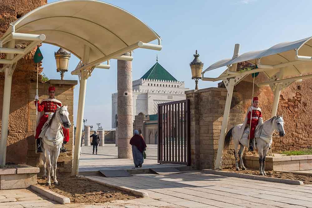 Puerta Mausoleo Mohamed V Rabat