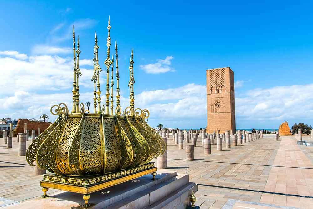 Torre Hassan II Rabat