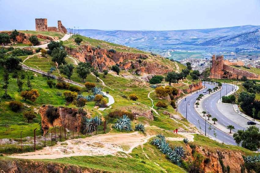 Vista panoramica de Fez