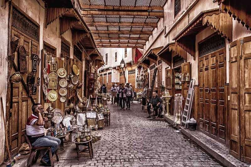 Los zocos de Fez