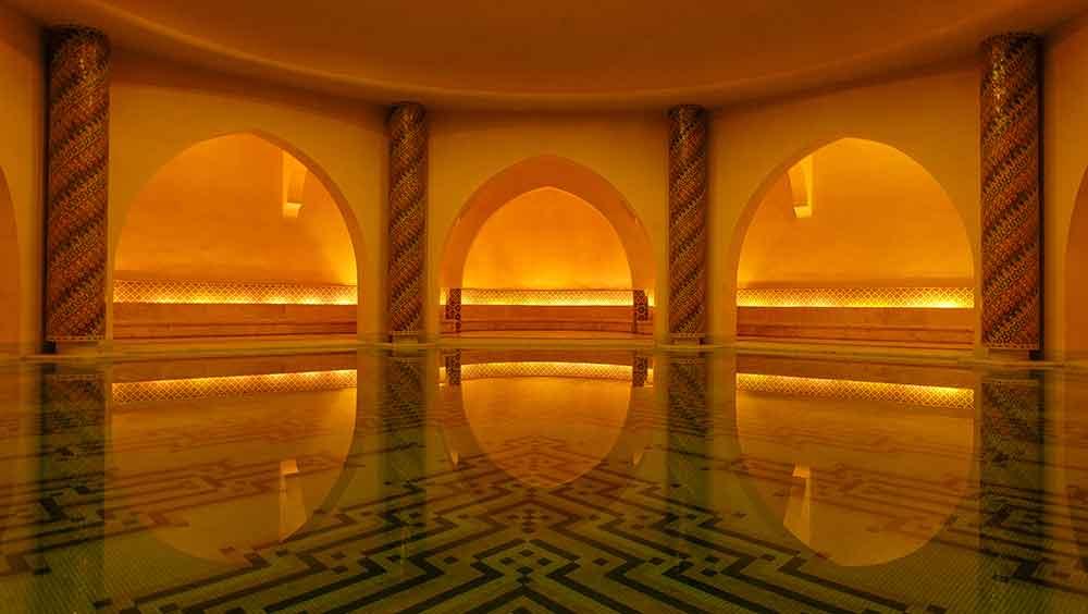 Hamman en Marruecos en Casablanca