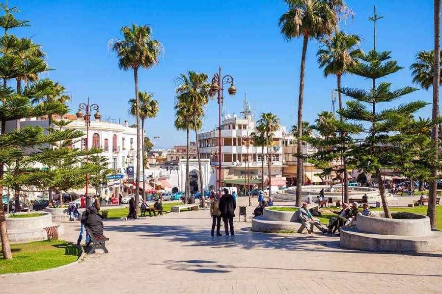 Gran Zoco o Plaza 9 de abril Tanger