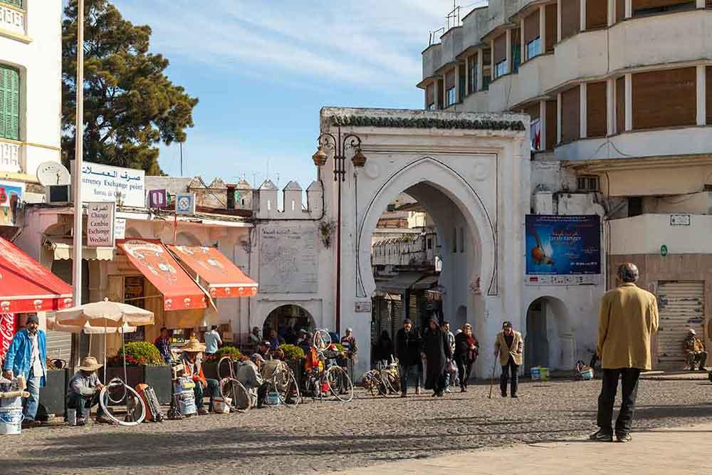 Puerta medina de Tanger