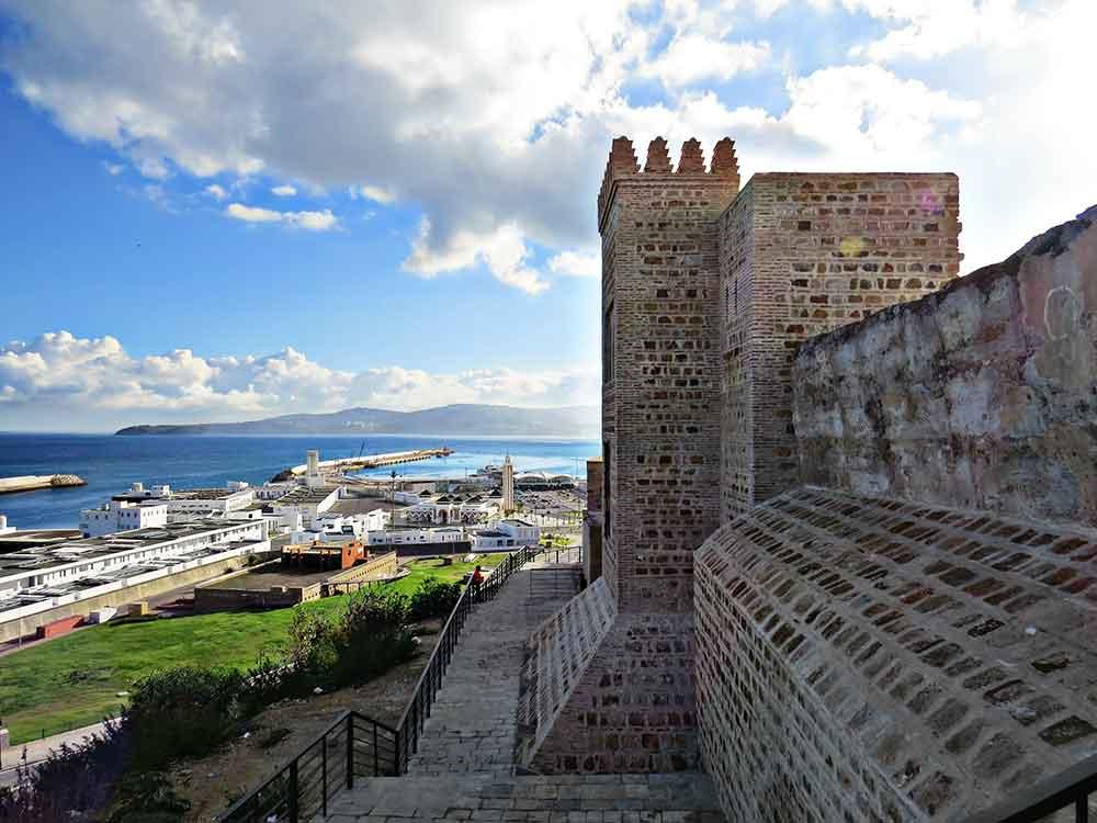 Vistas Kasbah Tanger