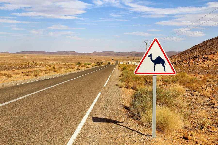 Normas de trafico carretera Marruecos