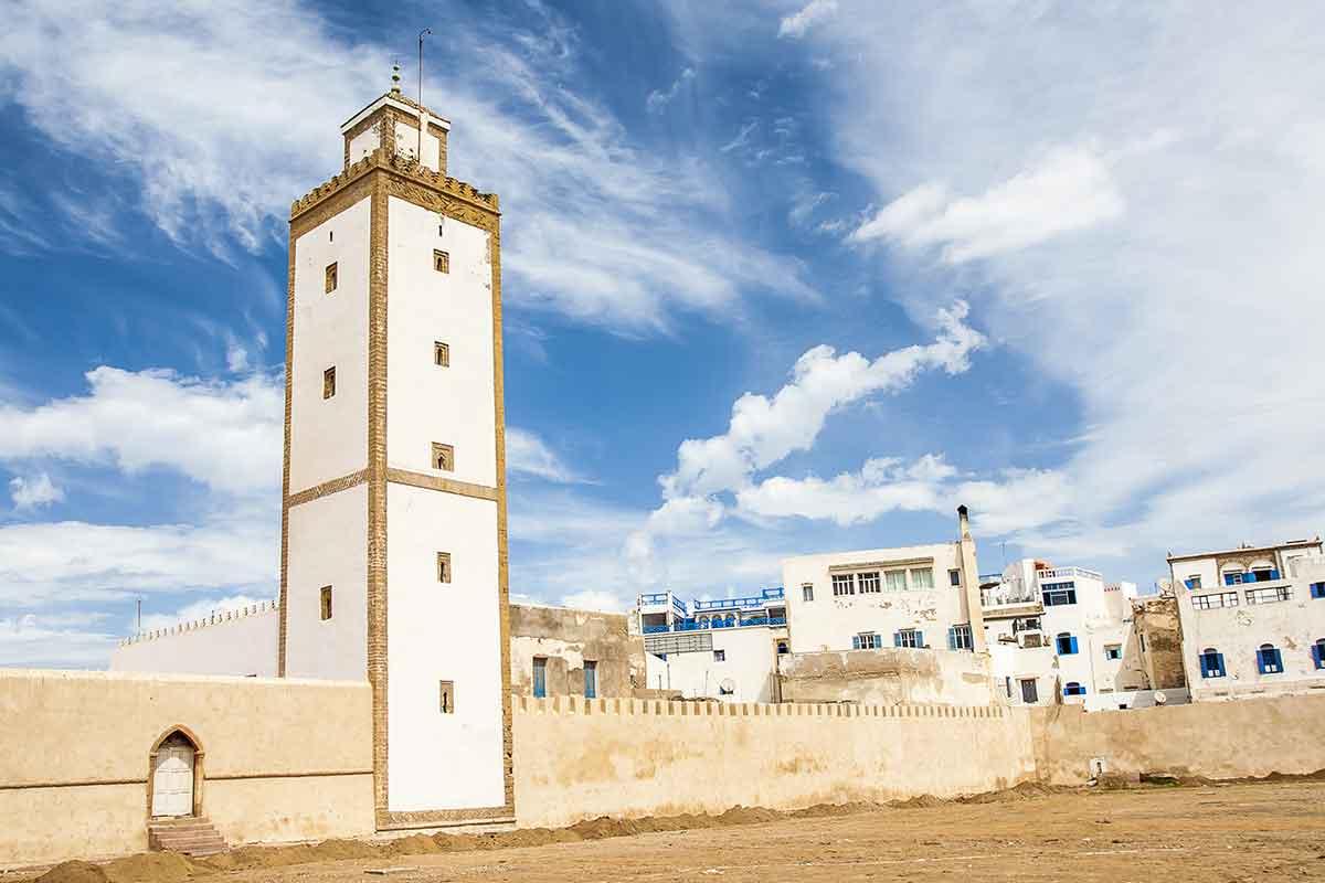 Mezquita y murallas Oualidia