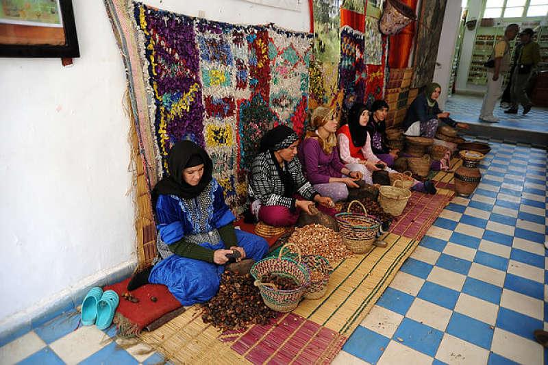 Cooperativa de mujeres bereberes