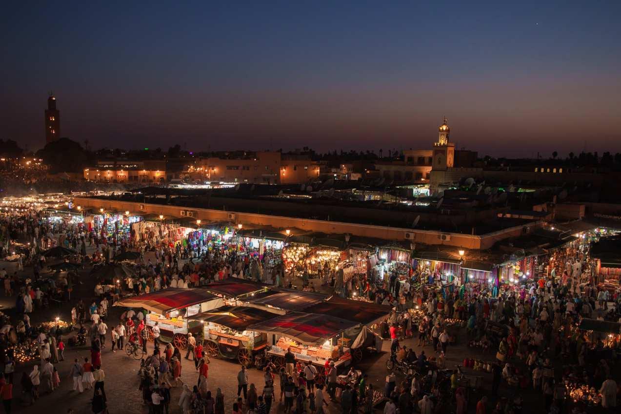 Marrakech la ciudad más visitada de Marruecos
