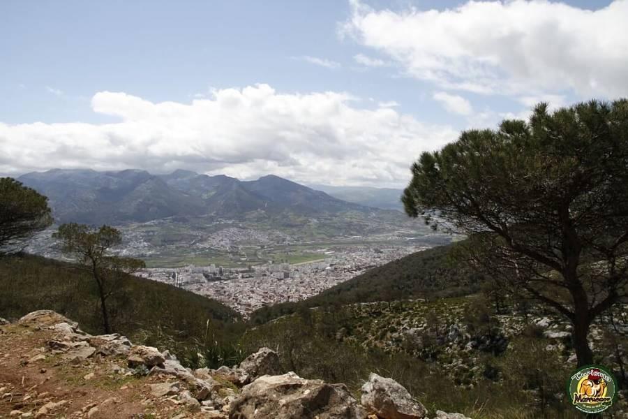 Vistas de Tetuan desde la pista madre