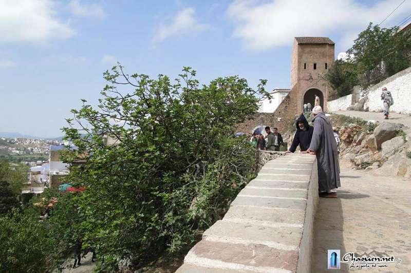 Bab el-Ansar camino a los lavaderos de Ras el Maa Chaouen