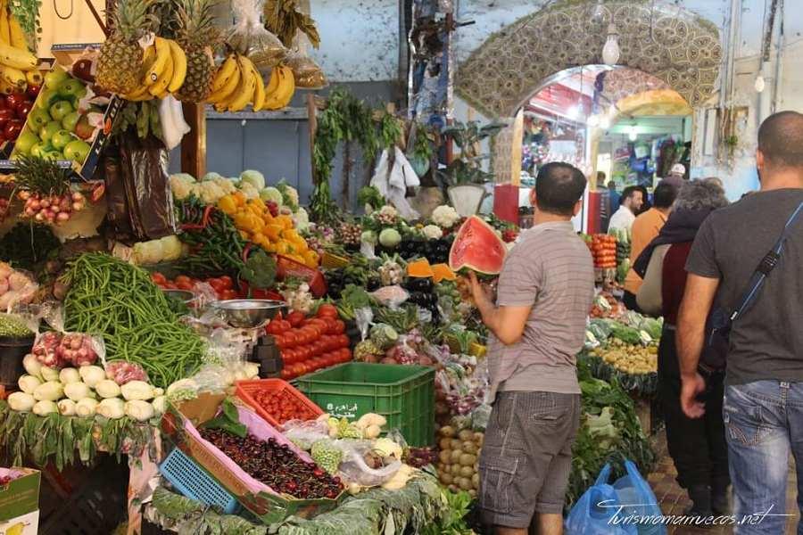 Mercado de fruta y verdura de Tánger
