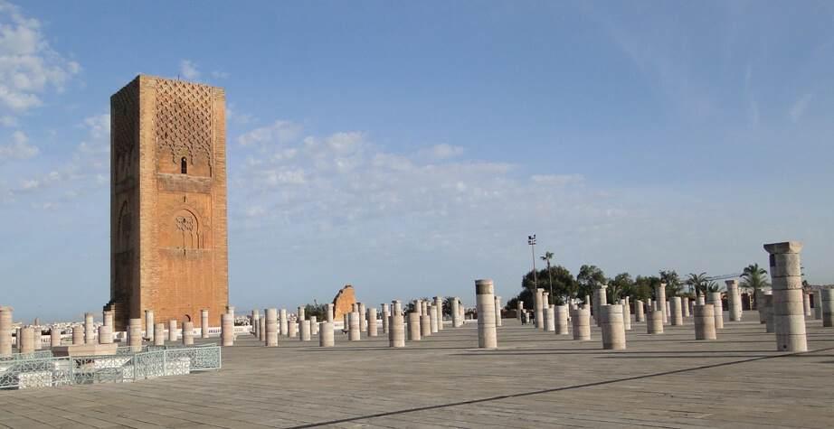 Torre de Hassan en Rabat