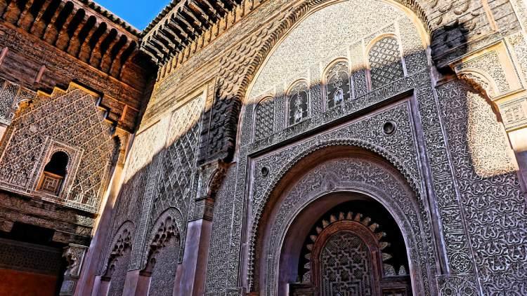 Medersa Ben Youssef en Marrakech
