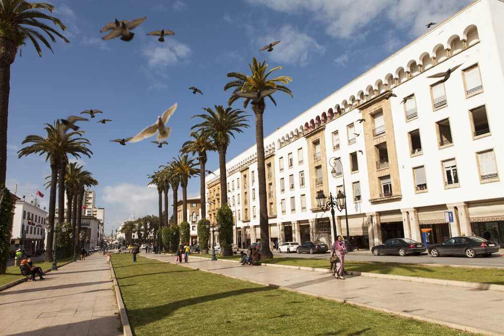 Ciudad Moderna de Rabat