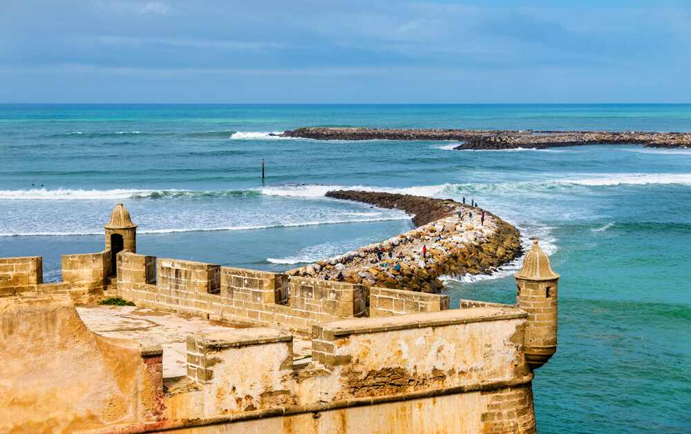 Fortaleza Kasbah Oudaias Rabat