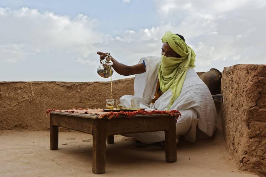 El té marroquí