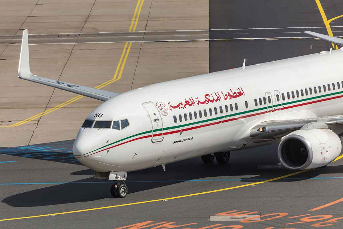 Aviones en Marruecos