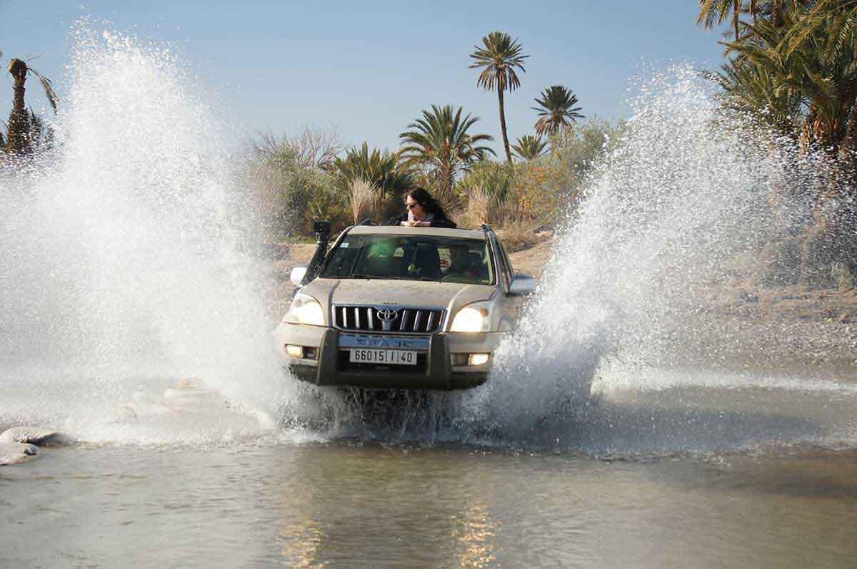 Vehículo 4x4 Marruecos