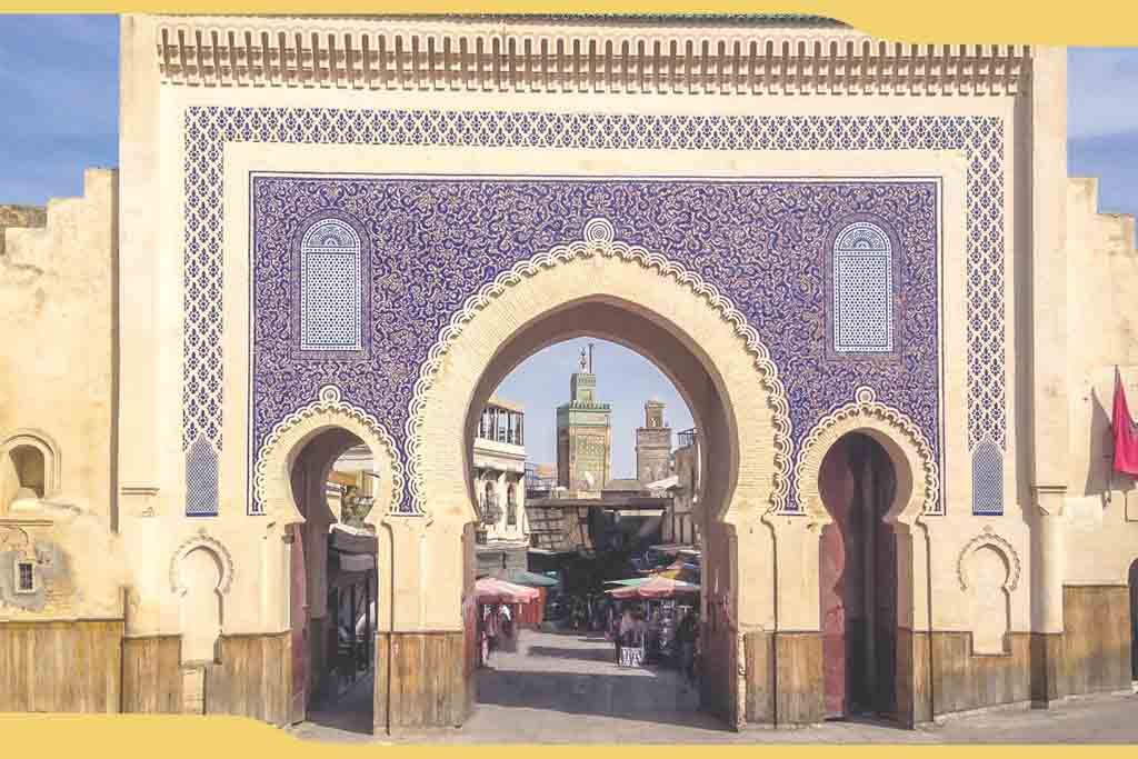 puerta-azul-de-Fez
