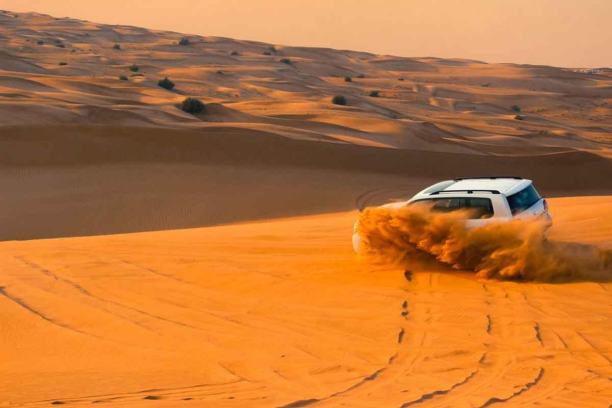 4x4 por las dunas de Erg Chebbi