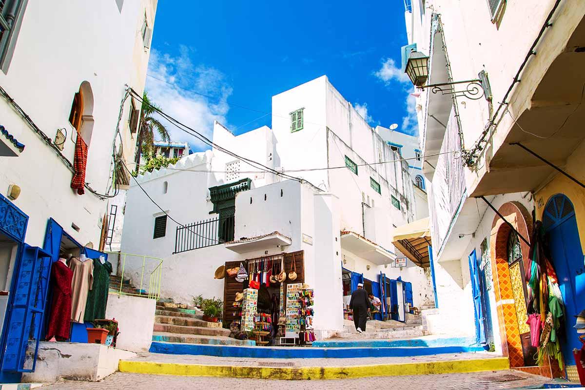 Interior de la medina de Tanger