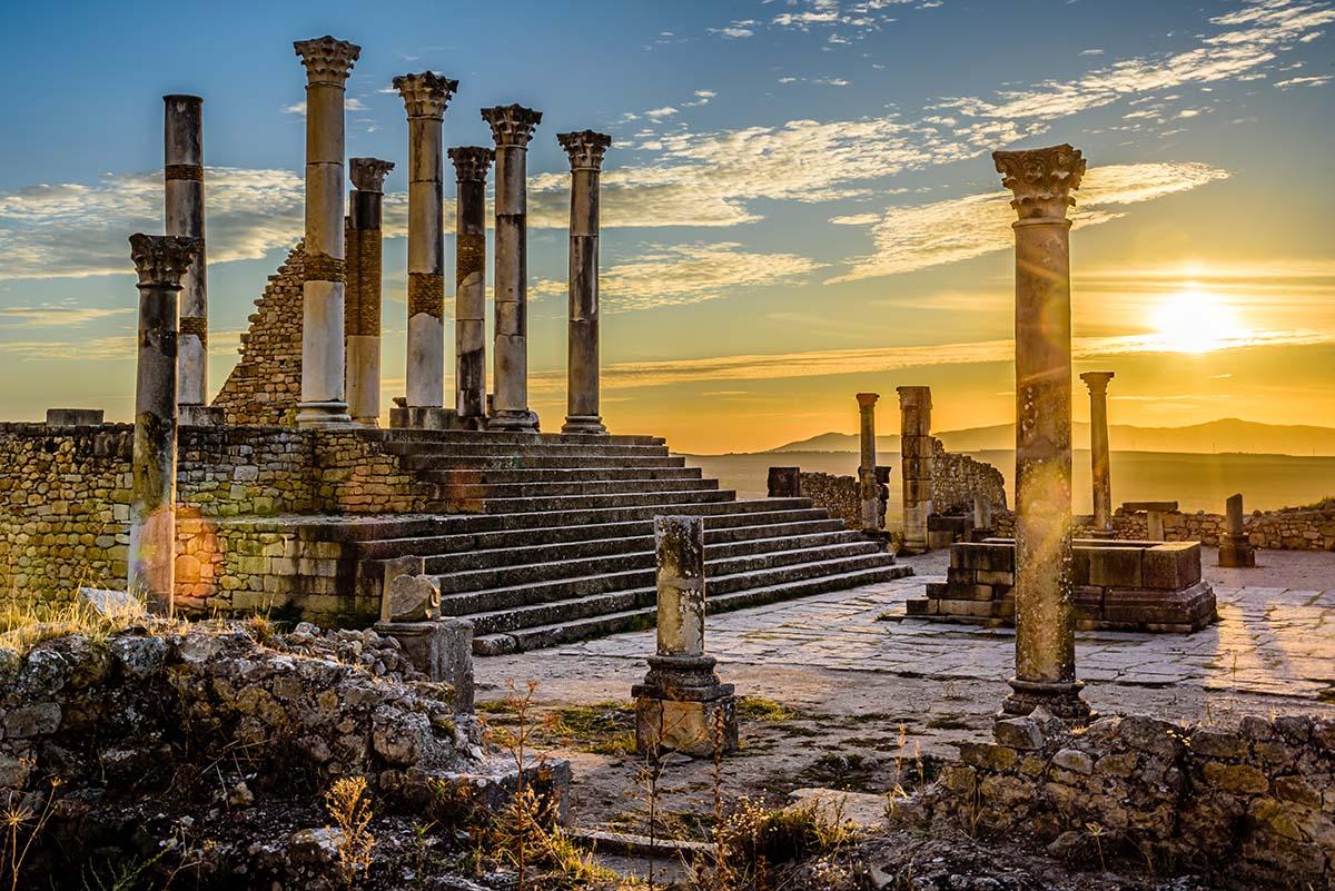 Capitolio de Volubilis