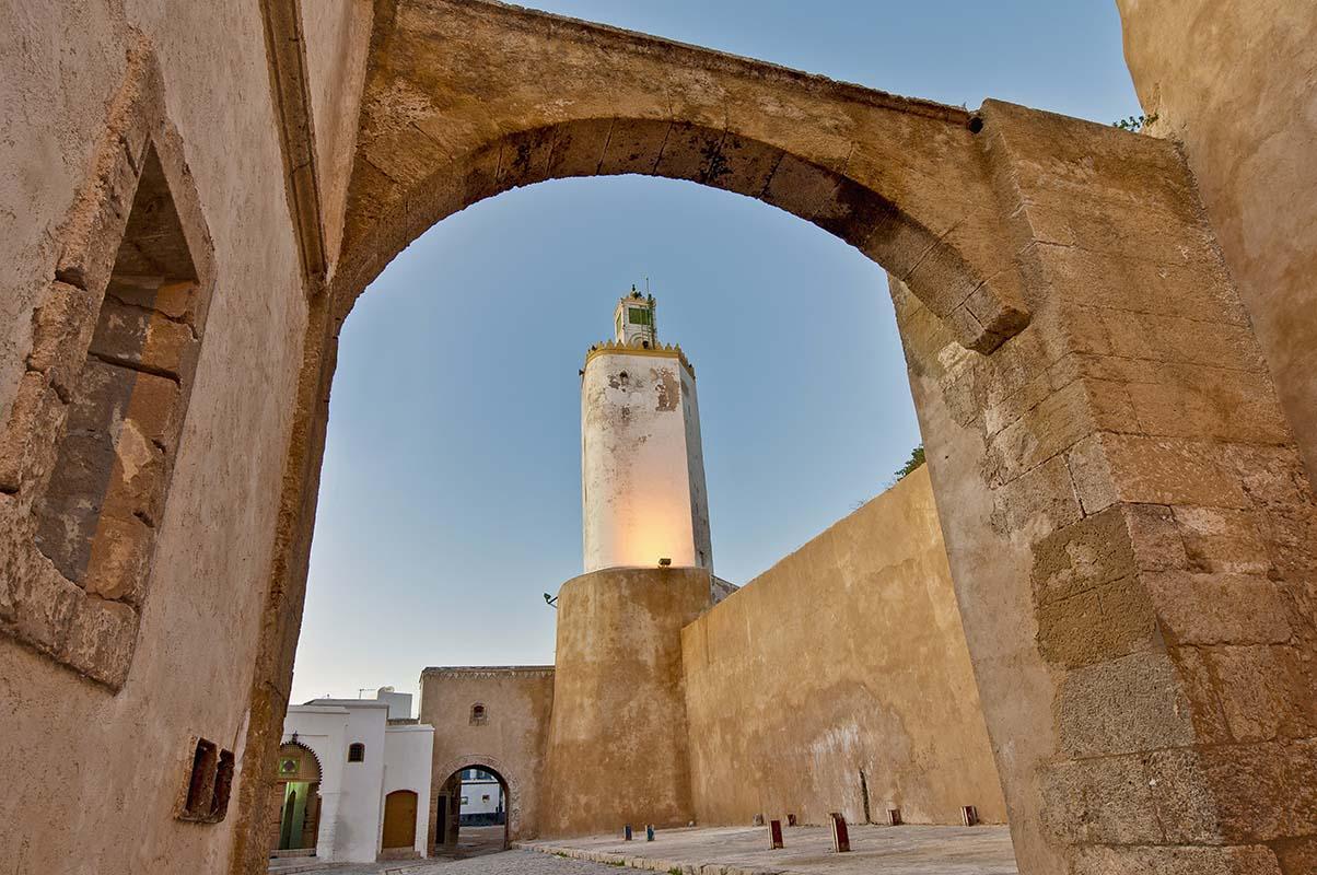 Minarete de Mezquita en El Jadida