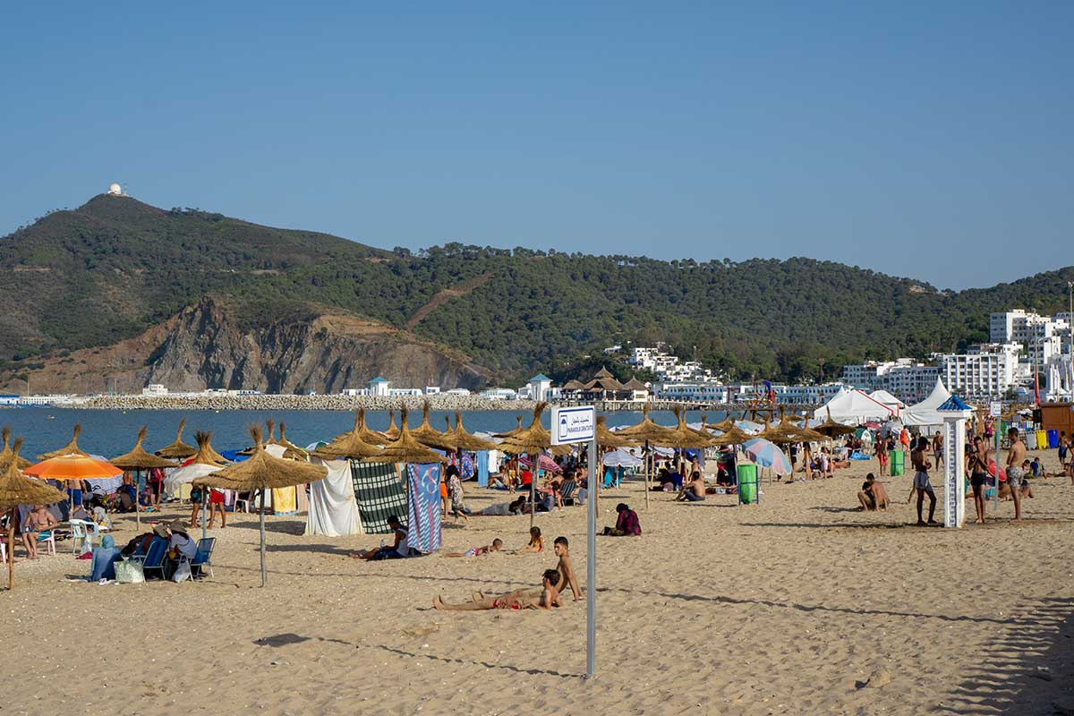 Playa rincón del M'diq