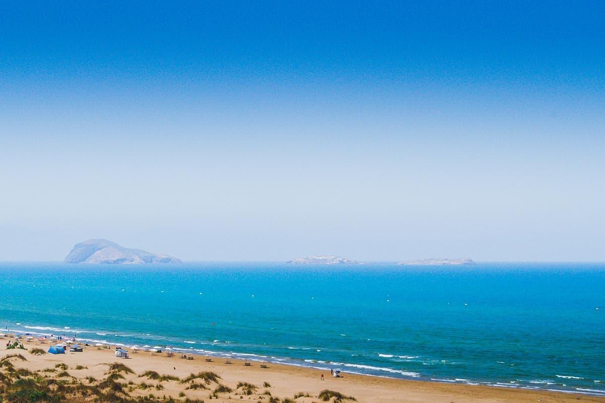 Playas de Saidia en Marruecos