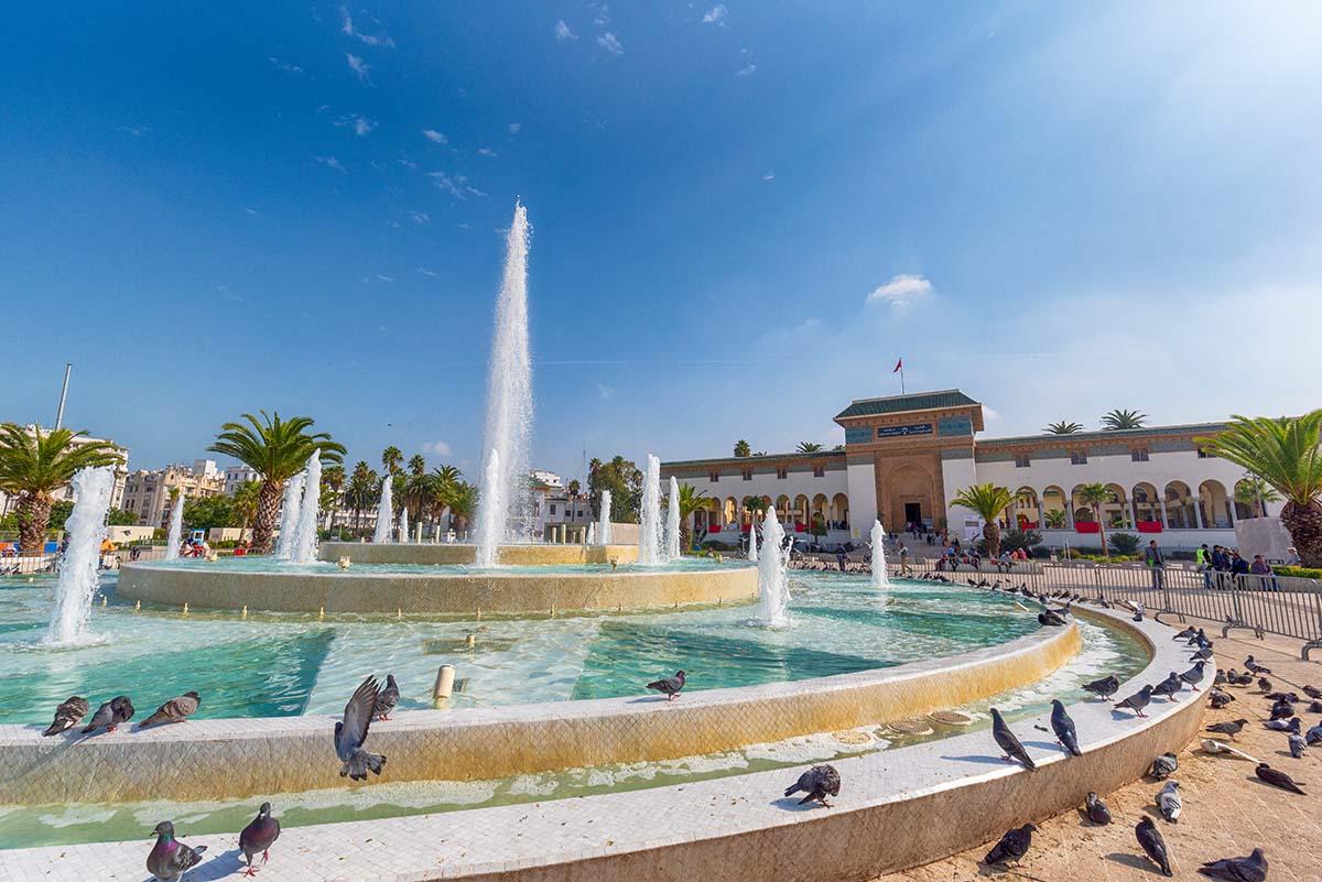 Plaza Mohamed V Casablanca