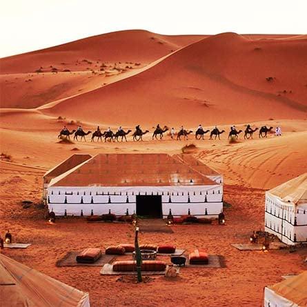 Experiencia jaimas en el desierto de Merzouga