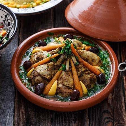 Clases de cocina marroquí