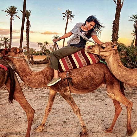 Excursión en dromedario por el Palmeral de Marrakech